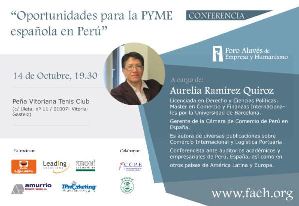 Oportunidades para las PYMES españolas en Perú
