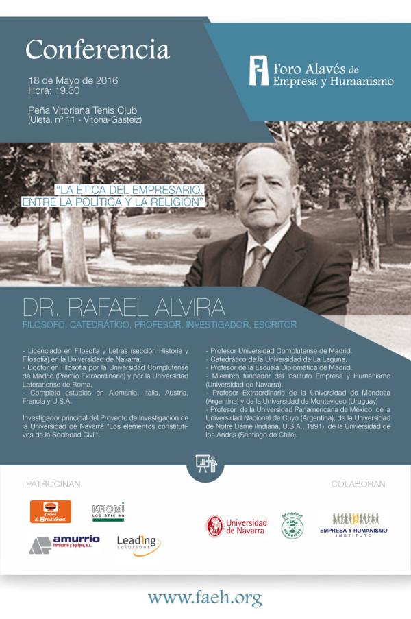 """Conferencia: """"La ética del empresario, entre la política y la religión"""""""