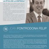 """Conferencia: """"¿Por qué es importante la ética en la empresa?""""- Joan Fontrodona"""