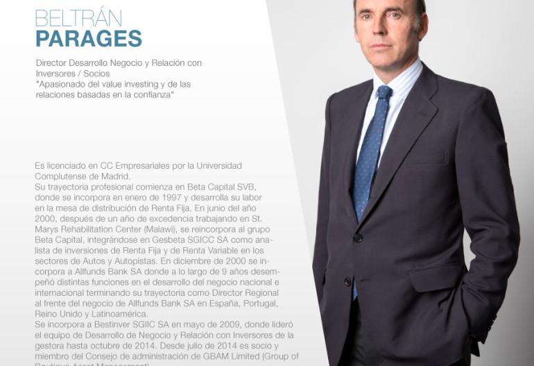 "Conferencia: ""Inversión con sentido común"" – Beltrán Parages"