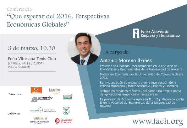 Conferencia – Antonio Moreno Ibáñez